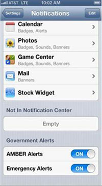AT&T Wireless subscribers to get emergency alerts on iPhone 4S and 5
