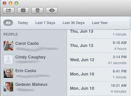 Chatology for Mac lets you easily search Message histories