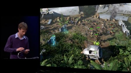 Crytek showed off a new iOS title called The Collectibles at WWDC