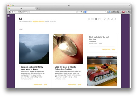 RSS Reader Roundup Feedly leads the pack with web, mobile and thirdparty apps