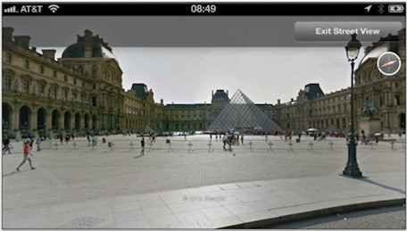 Google Earth 71 for iOS now includes Street View