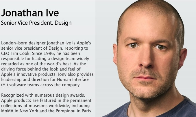 essay about jonathan ive designs