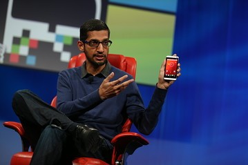 Android head Sundar Pichai is excited to try out iOS 7