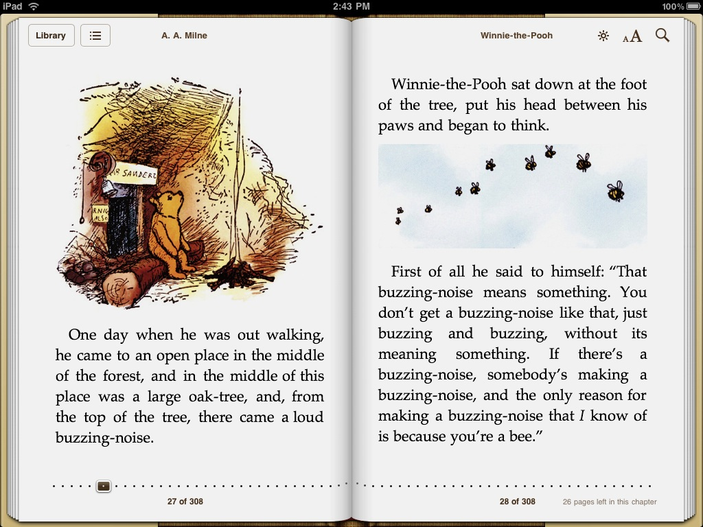 Eddy Cue says Steve Jobs picked 'Winnie the Pooh' as the iBooks freebie and also came up with idea for 'page curls' in iBooks