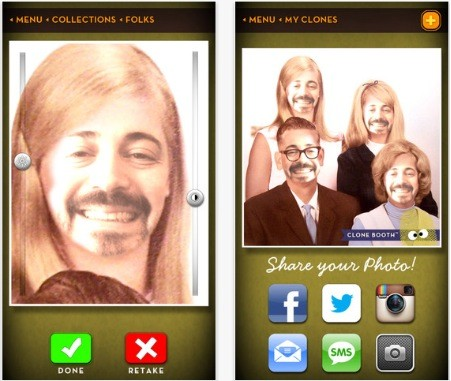 Daily iPhone App Clone Booth is wacky but simple