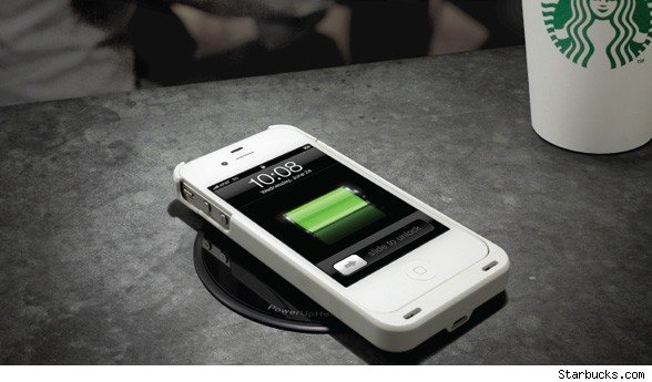 Starbucks to expand wireless charging program