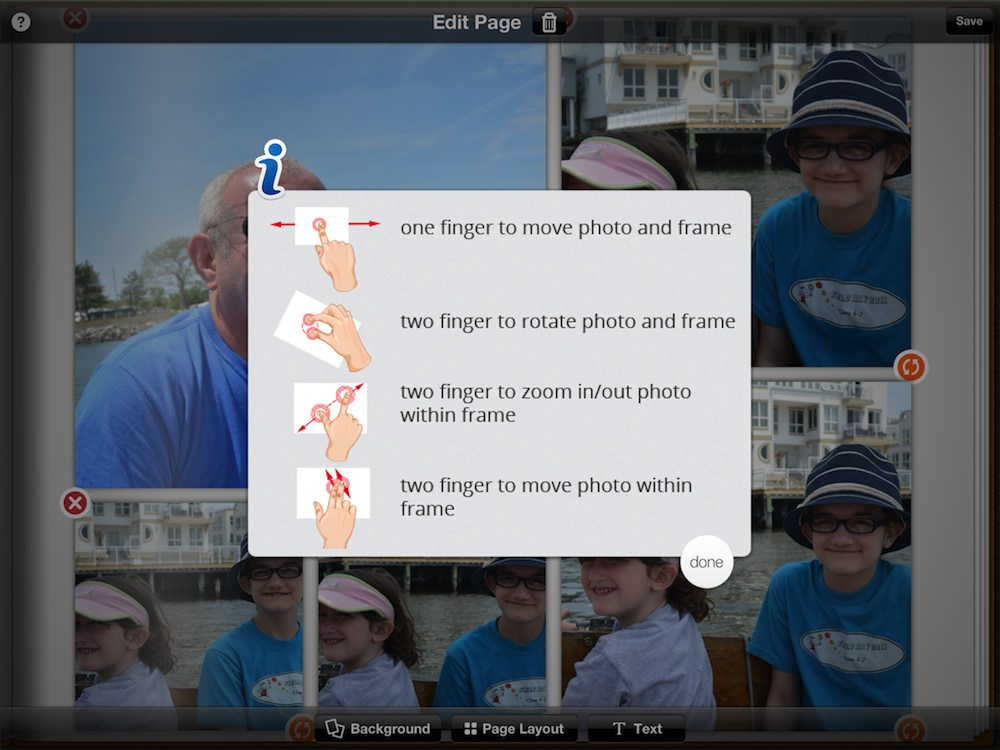 Tapsbook gives photos new iPad organizing flair | TUAW ...