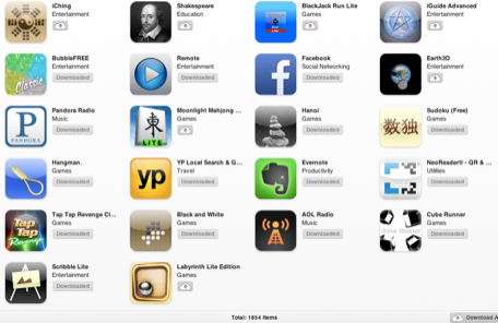 App Store 5th anniversary What was your first purchase