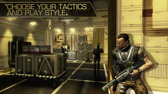 Deus Ex The Fall update supports iPad 2