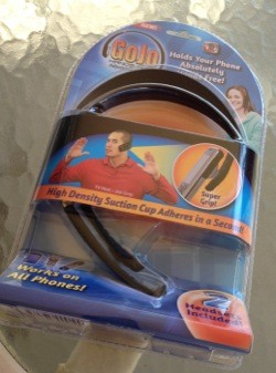Dollar Store Accessories The GoJo iPhone Headphone