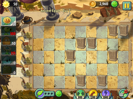 Plants vs Zombies 2 First look