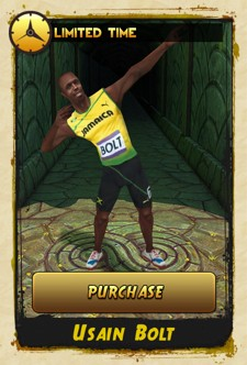 Usain Bolt added as playable character in Temple Run 2