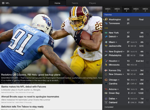 Yahoo Sports app for iOS updated with MMA coverate and host of other enhancements