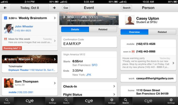 Apple acquires 'Cue', personal assistant app