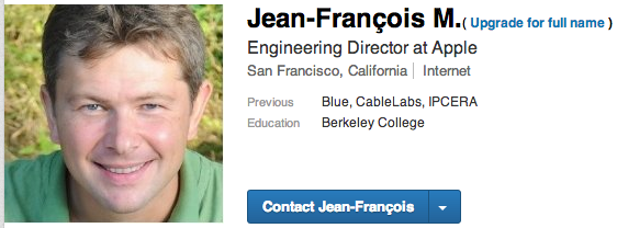 Apple hires former CableLabs exec JeanFrancois Mul as engineering director