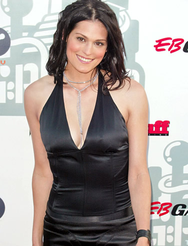 morgan webb goes glam