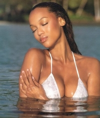 tyra banks bathing suit