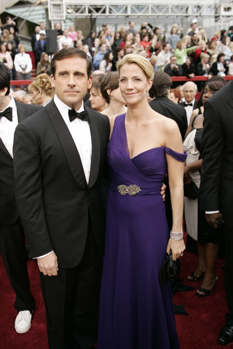 steve carrells wife. The Office: Steve Carell