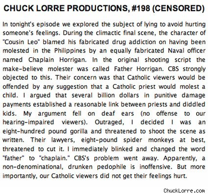 World Top Trends Chuck Lorre Vanity Cards Photos