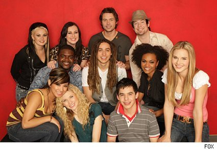american idol contestants. American Idol 7 Top 11