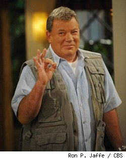 William Shatner in 'Bleep My Dad Says' on CBS
