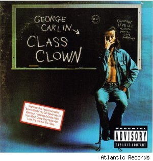 'Class Clown' by George Carlin - album cover
