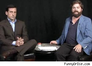 Steve Carell and Zach Galifanakis