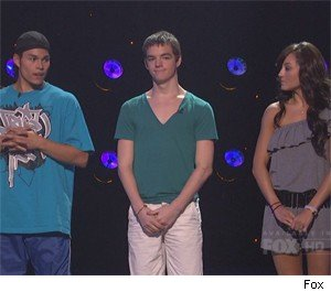 The bottom three of SYTYCD: Jose, Billy, and Ashley