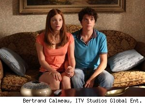 Stacey Farber and Michael Seater in '18 to Life'