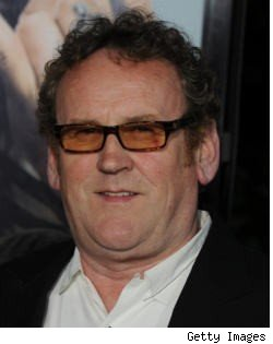 Colm Meaney poses on the red carpet