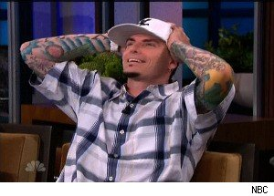 Rapper Vanilla Ice Talks About Losing His Pet Kangaroo (Seriously! No Joke!)