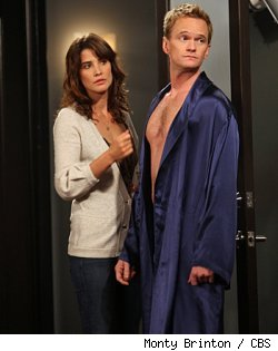Cobie Smulders and Neil Patrick Harris in 'HIMYM' - 'Baby Talk'