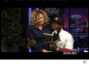 50 Cent Crashes 'Chelsea Lately's' Book Club, Winks at Dating Rumors