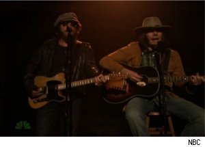 Fallon as Neil Young, Springsteen Sing 'Whip My Hair'