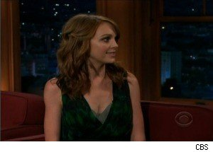 'Glee' Star Jayma Mays Is So 'Not Cool'