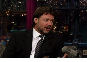 Russell Crowe on Smoking Cigarettes, Setting His Pants on Fire