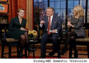 Emma Watson, 'Live with Regis and Kelly'
