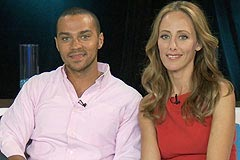 Outside the Box Interview with Jesse Williams and Kim Raver
