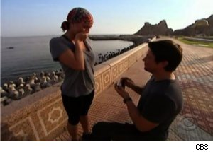 Chad Proposes to Stephanie on 'The Amazing Race'