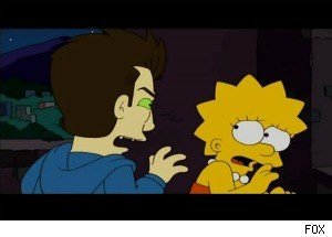 Daniel Radcliffe Guest Stars, as 'The Simpsons' Takes on 'Twilight'