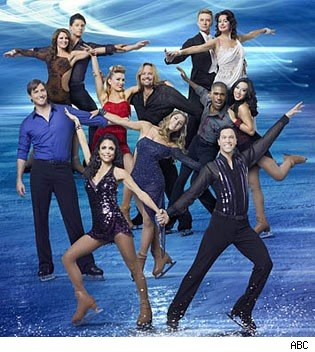 'Skating With the Stars' Season 1 cast