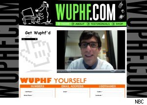 Ryan's website WUPHF.com on 'The Office'