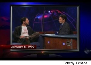 Paul Rudd, Jon Stewart in 1999 'Daily' Episode