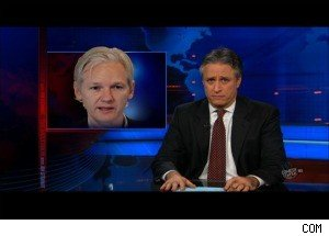 WikiLeaks' Julian Assange Is Arrested for Having 'Sex by Surprise' -- and Jon Stewart Is Very Confused