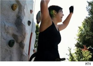 Gabriella Climbs Rock Wall on 'I Used to Be Fat'