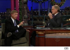 Marv Albert, 'Late Show with David Letterman'