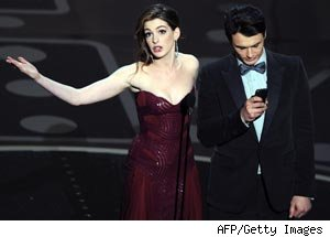 Anne Hathaway, James Franco, Oscars