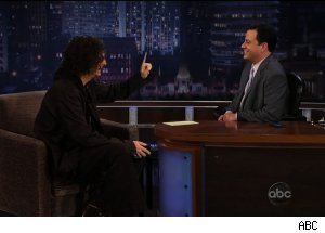 Howard Stern's vision for Charlie Sheen, 'Jimmy Kimmel Live'