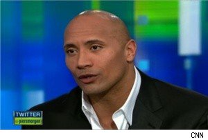 The Rock on 'Piers Morgan Tonight'