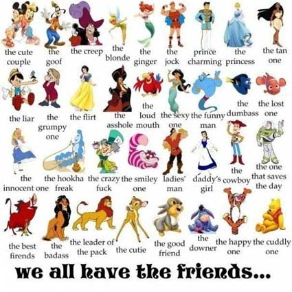 disney facebook friends tag
